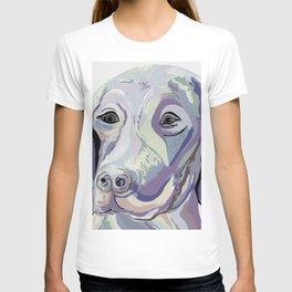 Weimaraner Denim Colors T-shirt