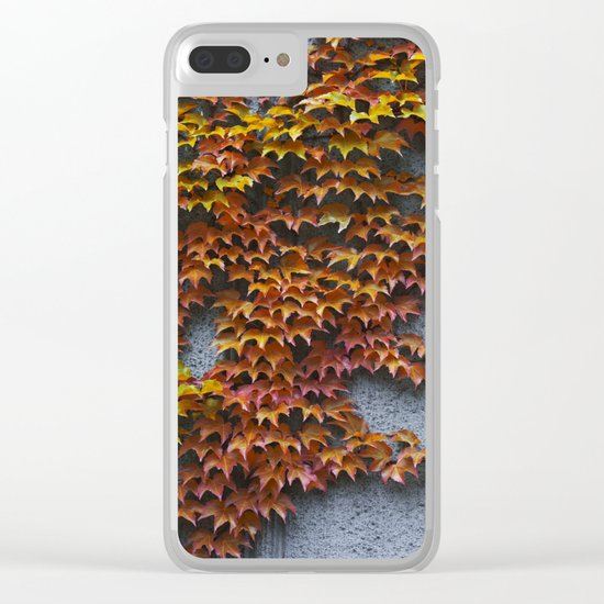Autumnal Clear iPhone Case