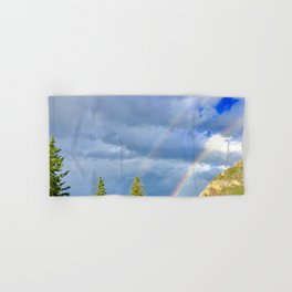 Canadian Rocky Rainbow Hand & Bath Towel