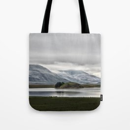 Mountains and Glaciers Iceland Tote Bag