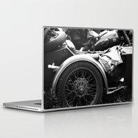 motorcycle Laptop & iPad Skins featuring motorcycle by Falko Follert Art-FF77