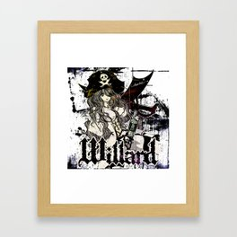 WILLARD THE WENCH Framed Art Print