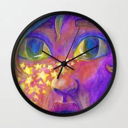 Star Kissed Wall Clock