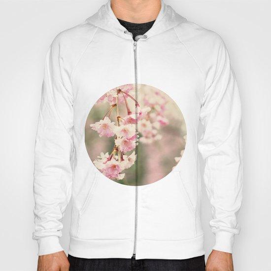 Cherry Blossoms, Fine Art Photo Hoody