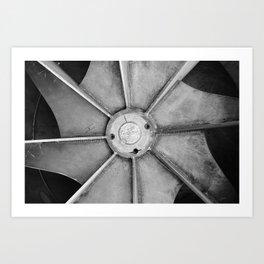 Industrial Fan Art Print