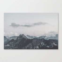 Calm - landscape photography Canvas Print