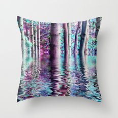 PEACE TREE-TY Throw Pillow