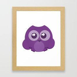 Fukurou (Owl) Framed Art Print