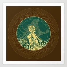 Hades and Persephone Art Print