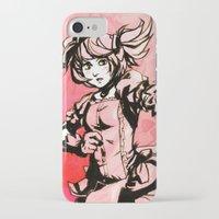 madoka iPhone & iPod Cases featuring Madoka by Vaahlkult