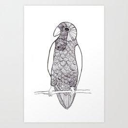 Cotorra Art Print