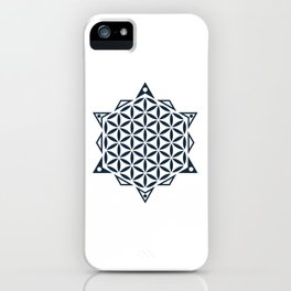 Flower of Life, Sacred Geometry iPhone Case
