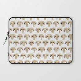 Many champignon slices pattern Laptop Sleeve