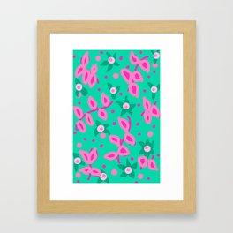 Mmm Bop Mint Framed Art Print