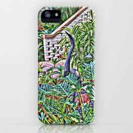 A BIRD NAMED YESTERDAY iPhone Case