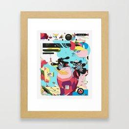 Funlandia Framed Art Print
