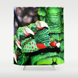 The Creature's Claw Shower Curtain