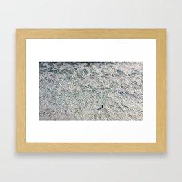 MAN AND SEA Framed Art Print