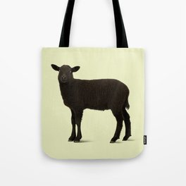 Black Lamb // Yellow Tote Bag
