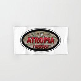 Atropia I Served (Camo) Hand & Bath Towel