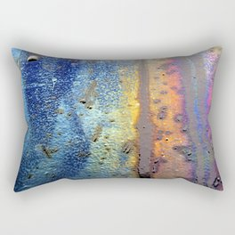 (t)Rainbow Rectangular Pillow