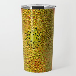 The flower of sun   (This Artwork is a collaboration with the talented artist Agostino Lo coco) Travel Mug