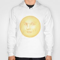 louis tomlinson Hoodies featuring Knowing sun emoji (Louis Tomlinson) by Jen Eva