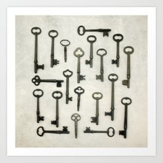 The Key Collection Art Print