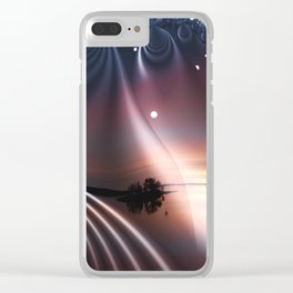 Magical Night Clear iPhone Case