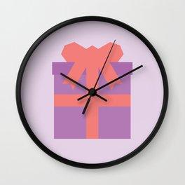 #49 Present Wall Clock