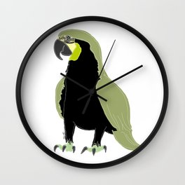 blue or green - who cares? Wall Clock
