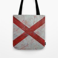 alabama Tote Bags featuring Alabama by Michael Creese