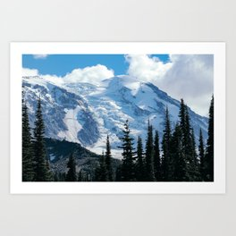 Mount Adams Glacier Art Print
