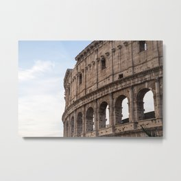 Rome's Colosseum After Sunrise Metal Print