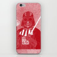darth iPhone & iPod Skins featuring Darth Vader by David Penela