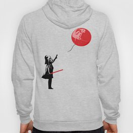 That's No Banksy Balloon (It's a Space Station) Hoody