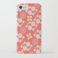 death cab for cutie iPhone & iPod Cases featuring Cutie by Pink Berry Patterns