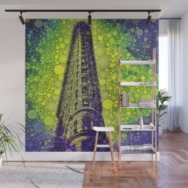Flat Iron Mystery Wall Mural