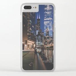 The Undisputed Champ, Chicago's Sears Tower - Art Print Clear iPhone Case