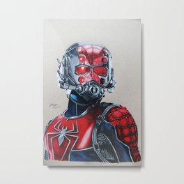 Spider-Man/Ant-Man mashup Metal Print