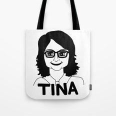 Tina Fey Tote Bag