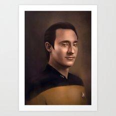 Star Trek: Data Art Print