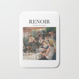 Renoir - Le déjeuner des canotiers Bath Mat