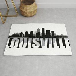 Louisville Silhouette Skyline Rug