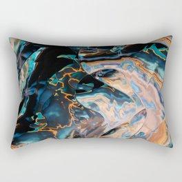 Catch that electric eel Rectangular Pillow