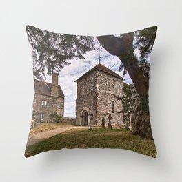St Mary Sullington Throw Pillow