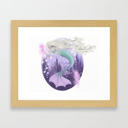 Friendly Jellies Framed Art Print
