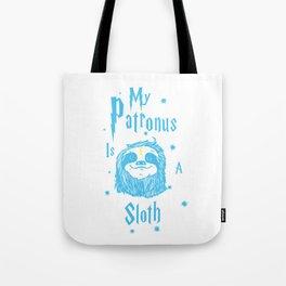 Sloth Patronus Tote Bag
