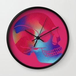 Skull (Multicoloured) Wall Clock