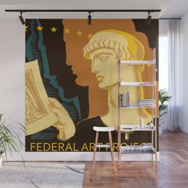 Federal Art Pennsylvania retro ad Wall Mural